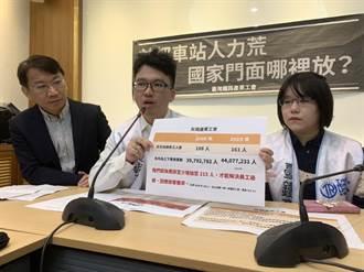 台北車站人力荒 剪收票員常被罵哭投訴