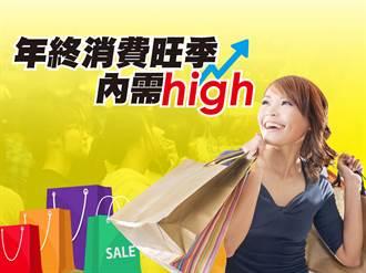 年終消費旺季 內需high