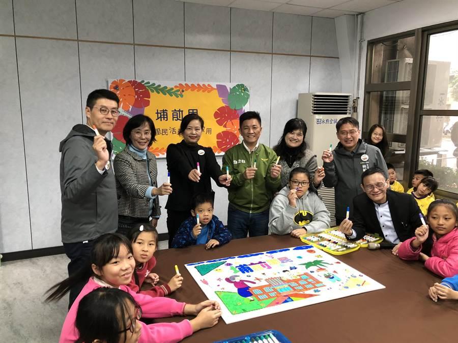 新竹市政府將超過50年歷史的香山區公所整修,改成「埔前里民活動中心」,5日正式啟用。(陳育賢攝)