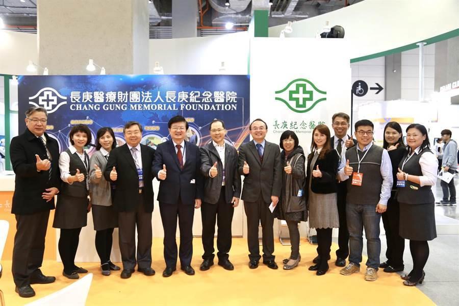 長庚醫院特別以5大醫療特色並結合長庚醫學科技共6大主題參展,盼藉此拓增台灣醫療實力的國際能見度。(長庚醫院提供)