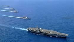 大選過後 美艦再通過台海