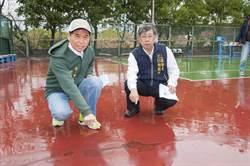 台中》議員力爭經費 大甲網球場整修後達國際賽水準