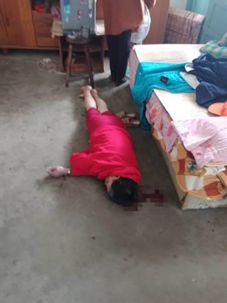 獨居身障女摔落床頭破血流 警扮「蜘蛛人」神救援