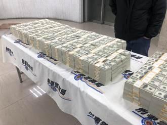 印刷廠偷印假美鈔 刑事局查獲史上最大「百元假美鈔」1000餘萬