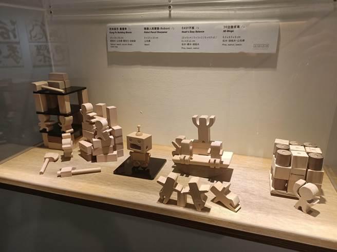 木匠兄妹工坊在父親26年工藝技術的根基下,推出一系列產品,並以異業合作和共同行銷等策略打響品牌。(張晉銘攝)