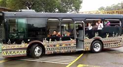 原住民文化園區無障礙電動遊園車啟用