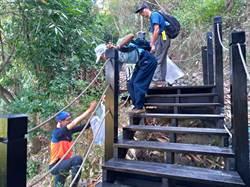 登山健行更安全!中市大坑步道持續整修完工