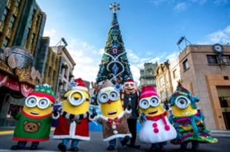 世界最棒耶誕城!環球水晶聖誕節閃耀登場