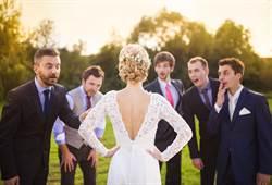 新娘婚禮邀一桌男賓客 她秒懂玄機