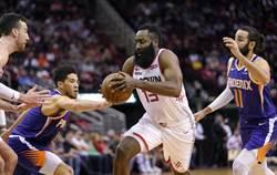 NBA》大鬍子末節飆18分 火箭射落太陽