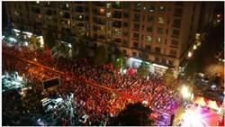 韓國瑜、陳學聖聯手造勢湧3萬人空拍 網大喊:爆了