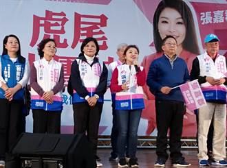 張嘉郡虎尾造勢 雲林議長:韓贏百萬票不是「豪消」