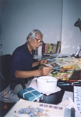 台灣漫畫英雄許貿淞辭世 享年82歲