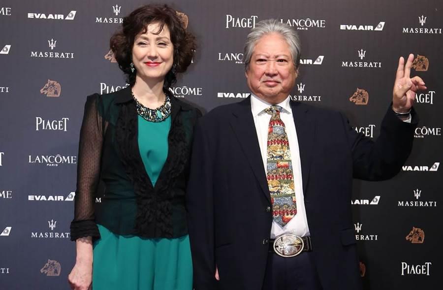 洪金寶和妻子高麗虹結婚24年感情依舊幸福。(圖/本報系資料照)