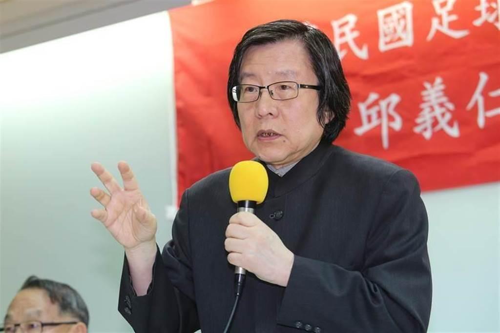 前國安會秘書長邱義仁。(資料照片,黃世麒攝)