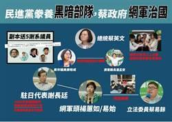 楊蕙如網軍幕後黑手 藍點名蘇嘉全、洪耀福