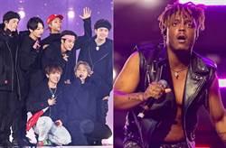 才剛合作世界天團BTS 嘻哈紅星Juice WRLD「機場倒地」猝逝