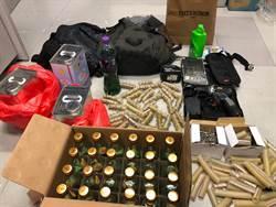 老師帶學生私藏大量攻擊武器 遭港警方逮捕