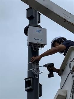 中華電信完成5G Small Cell智慧路燈建置測試