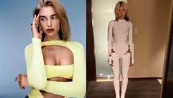 女星新造型「高衩卡該邊」露神秘膚色 網:怎麼上廁所