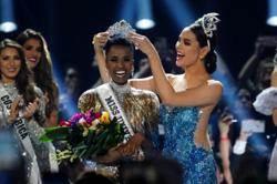 南非黑珍珠奪環球小姐后冠