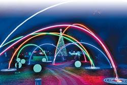 花漾藝術節燈會 點亮石岡山城