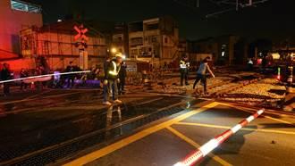 台南台鐵區間車撞死疑似臥軌婦 為撿屍塊單線雙向通車