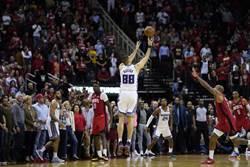 NBA》別利察絕殺三分球 國王氣走火箭