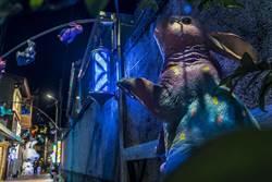 鹽水「月光之城」+龍崎「空山祭」耶誕跨年來台南追燈