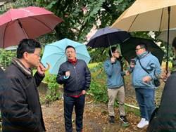 三重碧華公園40坪髒亂點移除 民代王威元促擴公園面積