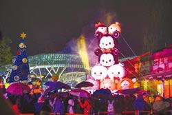 台中夢想迪士尼首周末人潮破5萬