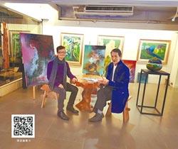 張政維油畫個展 在台首登場 震撼藝界