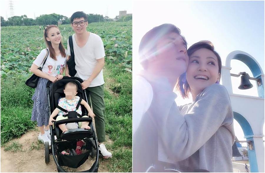 陳子玄和陳建隆結婚4年,驚傳已簽字離婚。(圖/翻攝自臉書)
