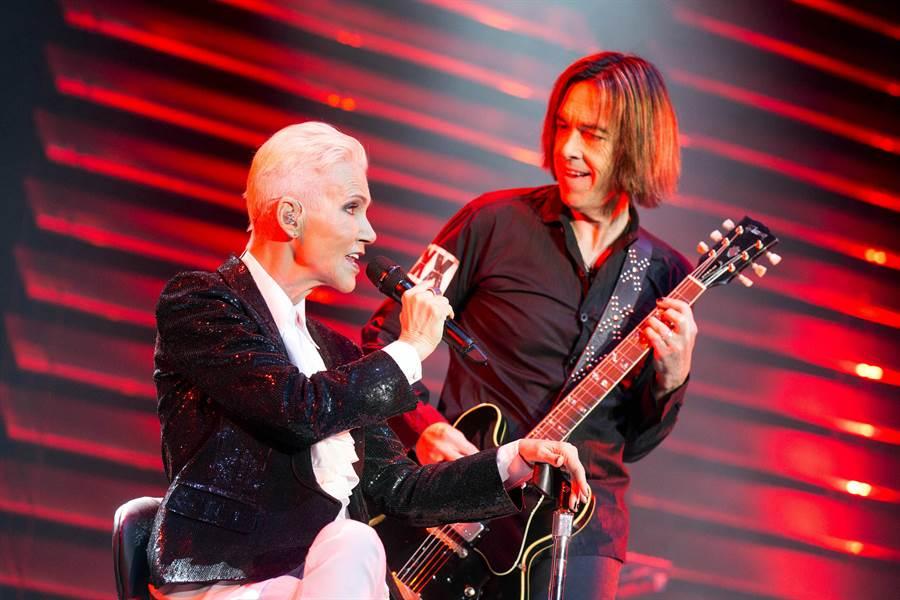 Roxette女主唱Marie Fredriksson被證實本月9號病逝。(達志影像)