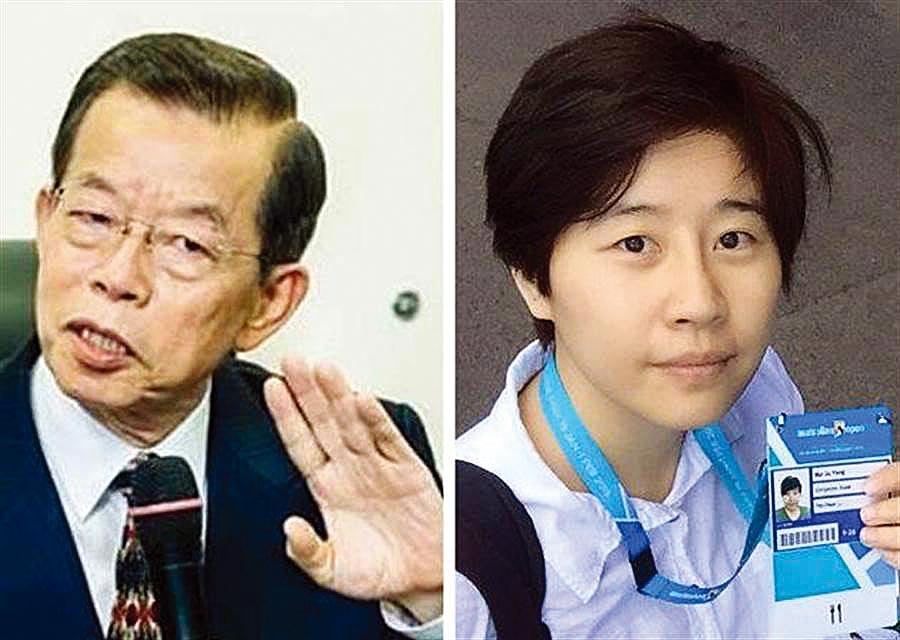 駐日代表謝長廷(左)、「卡神」楊蕙如(右)。(合成圖/中時資料照、楊蕙如臉書)