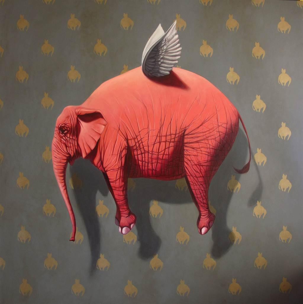 藝術菜單靈感之一,丹尼爾.蘇維勒斯.范弗的作品。(台北西華飯店提供)