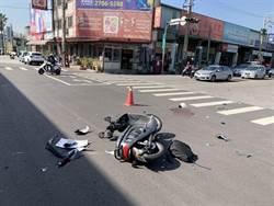 東海女大生騎車上學 撞轎車爆頭亡