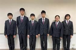 國中科學奧林匹亞得6金 國際排名第二