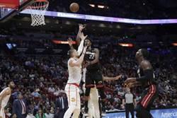 NBA》熱火雙人大三元 主場11連勝