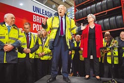 英大選倒數 保守黨民調領先