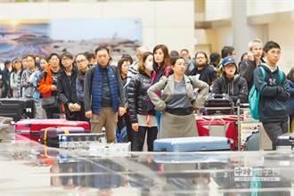 陸客大減、日韓旅客漸趨緩 學者估國際旅客全年1179萬人次