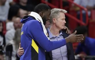 NBA》說勇士是爭冠球隊 科爾:很可笑