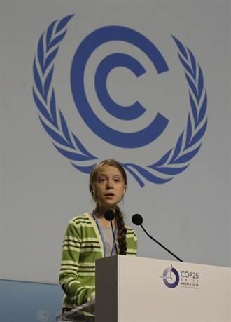 環保少女桑柏格指控世界各國領袖搞「創造性的公關」