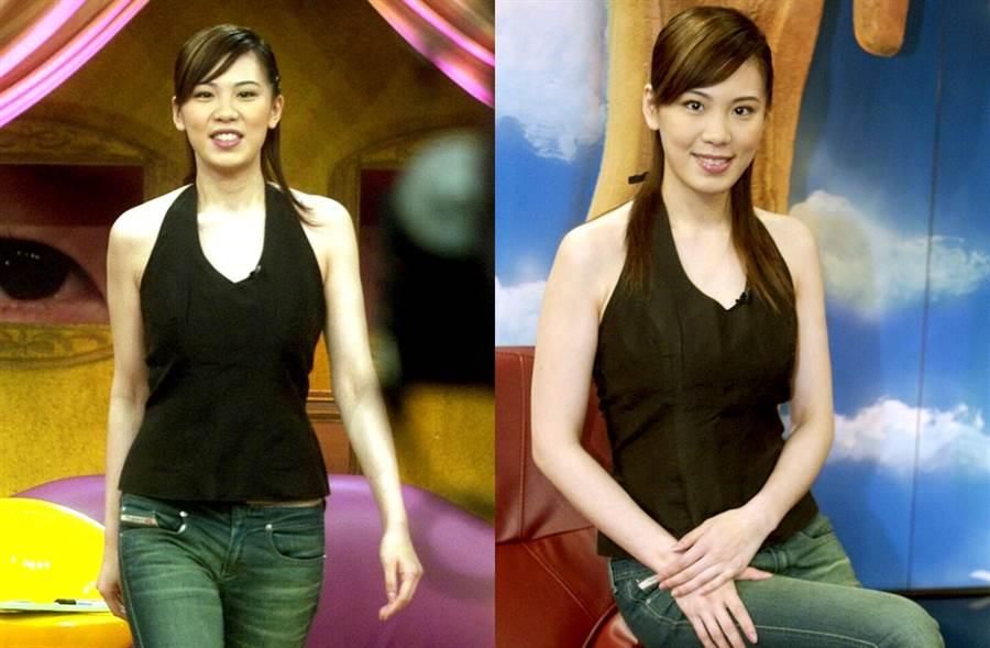 小禎過去上《康熙來了》舊照曝光。(圖/中時資料照片)
