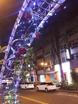 台中大隆路商圈迎耶誕 璀璨點燈