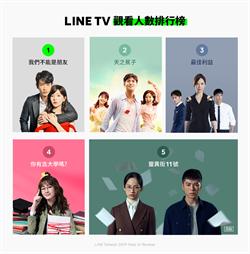 2019 LINE TV 榜單揭曉 網友大力支持台劇