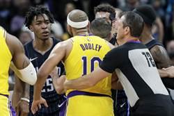 NBA》湖人前鋒杜德利 批評葛瑞芬難相處