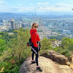 賴薇如愛上不花錢的嗜好 爬山行程享受大自然