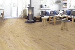 白馬窯業 引進德國超耐磨木地板