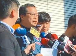 代表韓營前往3電視台遞交同意書!辯論靠三立 羅智強轟蔡爭氣點